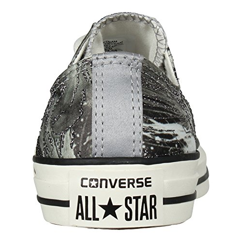 Chuck Star All Textile Womens Converse Ox Taylor Trainers Black Dolphin P1vqnO