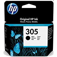 HP 305 3YM61AE, czarny, oryginalny wkład atramentowy, kompatybilny z HP DeskJet 2700, 4100, Envy Serie 6020, 6030, 6420…