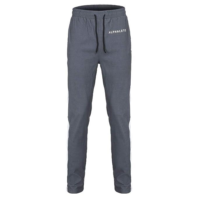 Pantalones de chándal Sueltos Tallas Grandes Ocasionales de la ...