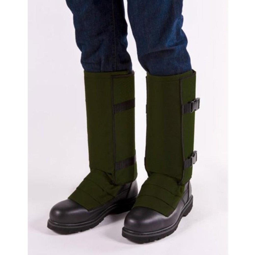 Crackshot Men's Snake Bite Proof Guardz Gaiters, Olive Green, Medium by Crack Shot