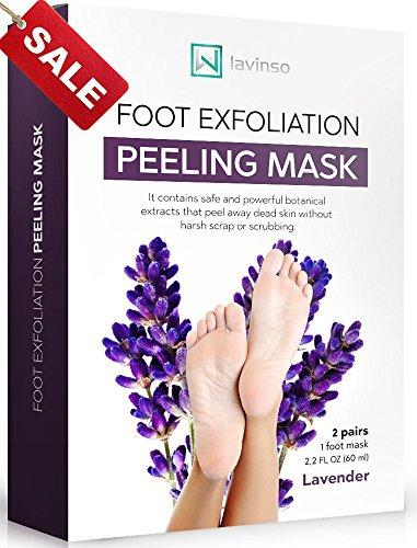 Lavinso Lavender Foot Peel Mask