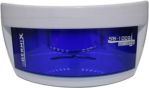 Caja de esterilizador UV Aparatos electrodomésticos profesionales Salón Herramientas de desinfección Limpieza Herramientas de belleza Equipo para uñas Arte Dispositivo de desinfección de belleza: Amazon.es: Hogar