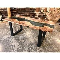 Big Leaf Maple Burl River Dining Table