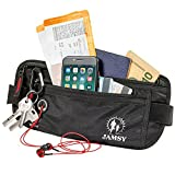 Money Belt - Travel belt - Money Belts RFID Blocking - Travel Pouch - Body Wallet - Passport Belt Anti theft - Travel Fanny Pack - Wallet Belt - Hidden Waist Pack for men women - Cash Belt for cards