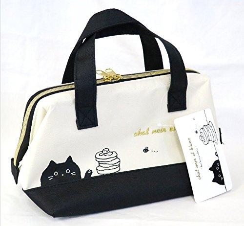 Tipo di borsa termica borsa termica per il pranzo–Chat Noir et Blanc Series by Osk tb-18nero