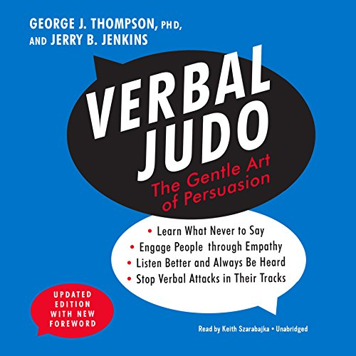 Verbal Judo, Updated Edition: The Gentle Art of Persuasion cover