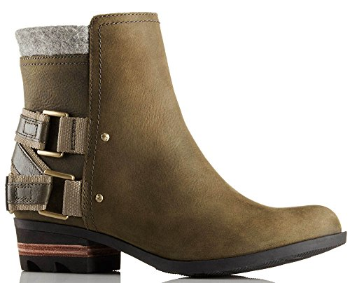 Sorel Womens Lolla Booties Peatmoss / Pebble