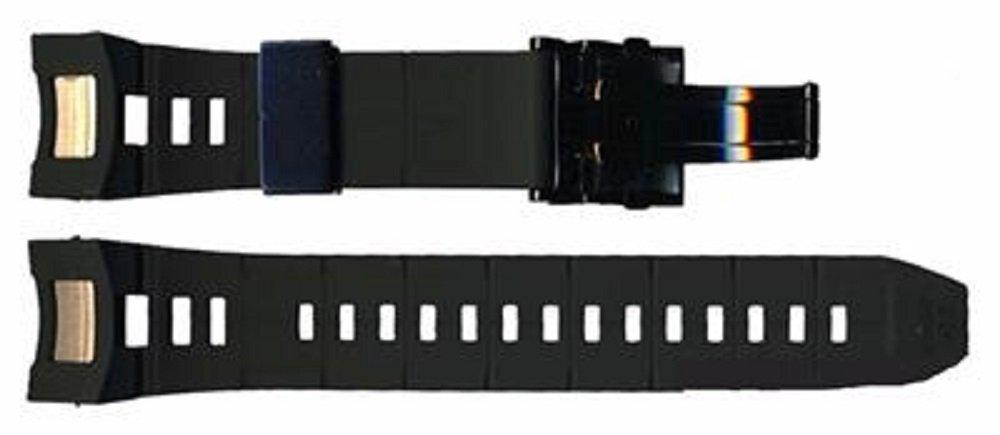 SEIKO BLACK SILICONE STRAP FOR BLACK ASTRON For SAST011