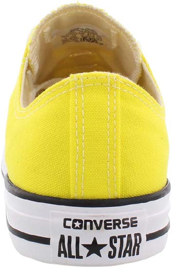 Converse Chuck Taylor All Star Season, Baskets Basses Mixte Adulte giallo fresco.