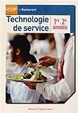 Technologie de service CAP Restaurant 1re - 2e années