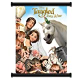 """Tangled Ever After Movie Fabric Wall Scroll Poster (16"""" x 20"""") Inches"""