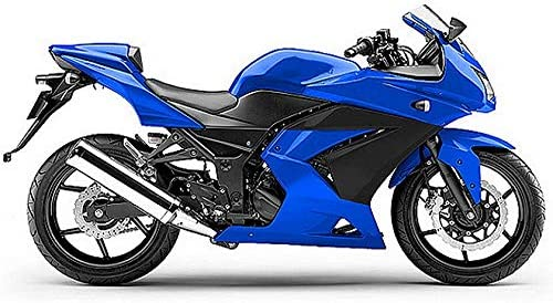Moto Onfire Fairing Kits Fit for 2008-2012 Kawasaki Ninja 250R EX250 08 09 10 11 12 (Blue Black)