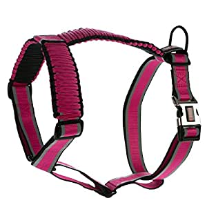 Amazon.com : KONG Reflective Paracord Harness Pink LARGE