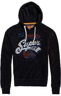 Urban Pull Hood Homme Vêtements Superdry Orange Label EqwSg