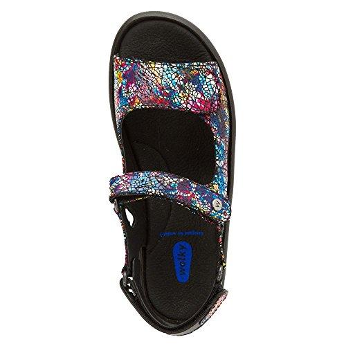 Wolky Komfort Sandaler Juvel Multi Svart Krasch Mocka