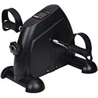 IBS Mini Pedal Exerciser LCD Counter Exercise Bike Indoor Fitness Resistance Home Gym