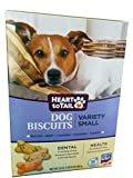 Heart to Tail Dog Biscuits Variety Small, Bacon,Beef,Sausage, Turkey 24 oz