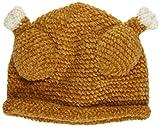 San Diego Hat Baby-Girls Newborn Chenile Turkey Hat, Brown, 6-12 Months