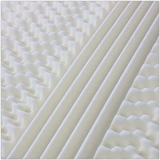 MiaSuite Viscoelástico, Poliuretano, Bianco, 80 x 190 cm: Amazon.es: Hogar