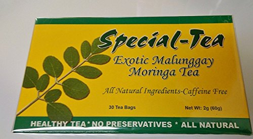 Special - Tea Exotic Malunggay Moringa Tea Pack Of Two Boxes 30 Tea Bags In A Box Net Wt. 60G