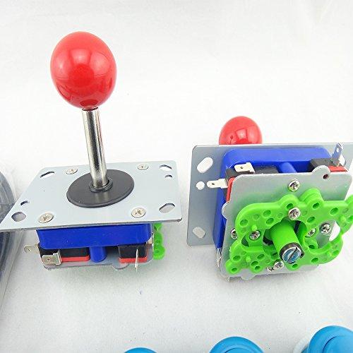 BLEE Arcade Bundles kit DIY with Arcade Joysticks,USB to Jamma