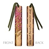 Best Mitercraft Hikes In Usas - Personalized Wooden Hand Made Bookmark - Cherry Tree Review