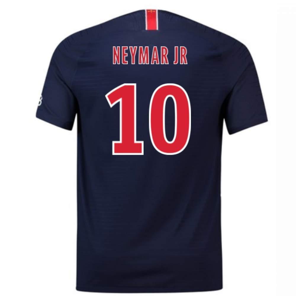 2018-2019 PSG Authentic Vapor Match Home Nike Football Soccer T-Shirt Trikot (Neymar Jr 10)