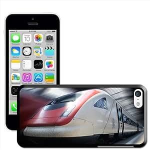 Fancy A Snuggle 'de primer plano de la parte delantera de un tren bala' carcasa rígida para Apple iPhone 5C