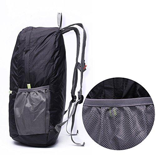 c2c4f06c81484 ... CADEN leicht verstaubarer Rucksack wasserabweisend Wandern  Tagesrucksack