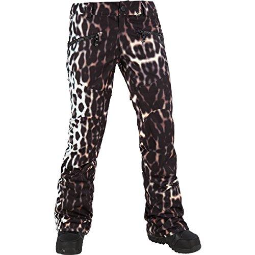 Volcom Hexie Pant - Women's Cheetah, S (Cheetah Snowboard Jacket)