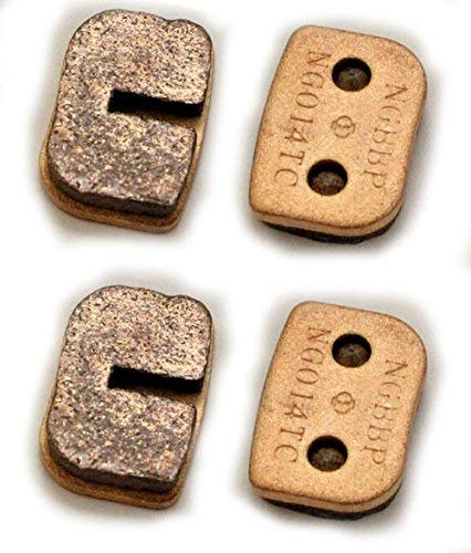 (Two Sintered Brake Pad set compatible with Trailmaster Mini XRX and Mini XRS Go Karts part# 7.120.060 )