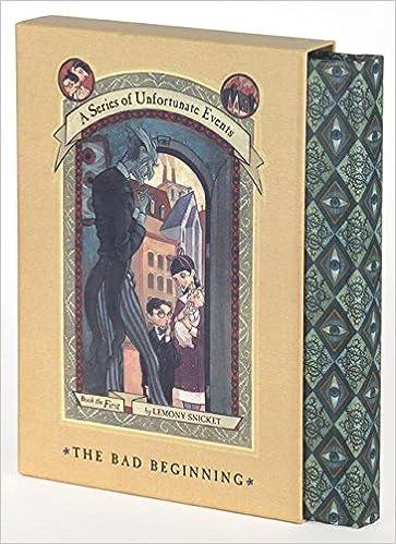 The Bad Beginning Greatreadsforgirls
