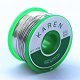 Lead Free Solder Rosin Core Solder Wire (Sn99 Ag0.3 Cu0.7, 0.6mm, 0.22lb) for Electrical Soldering