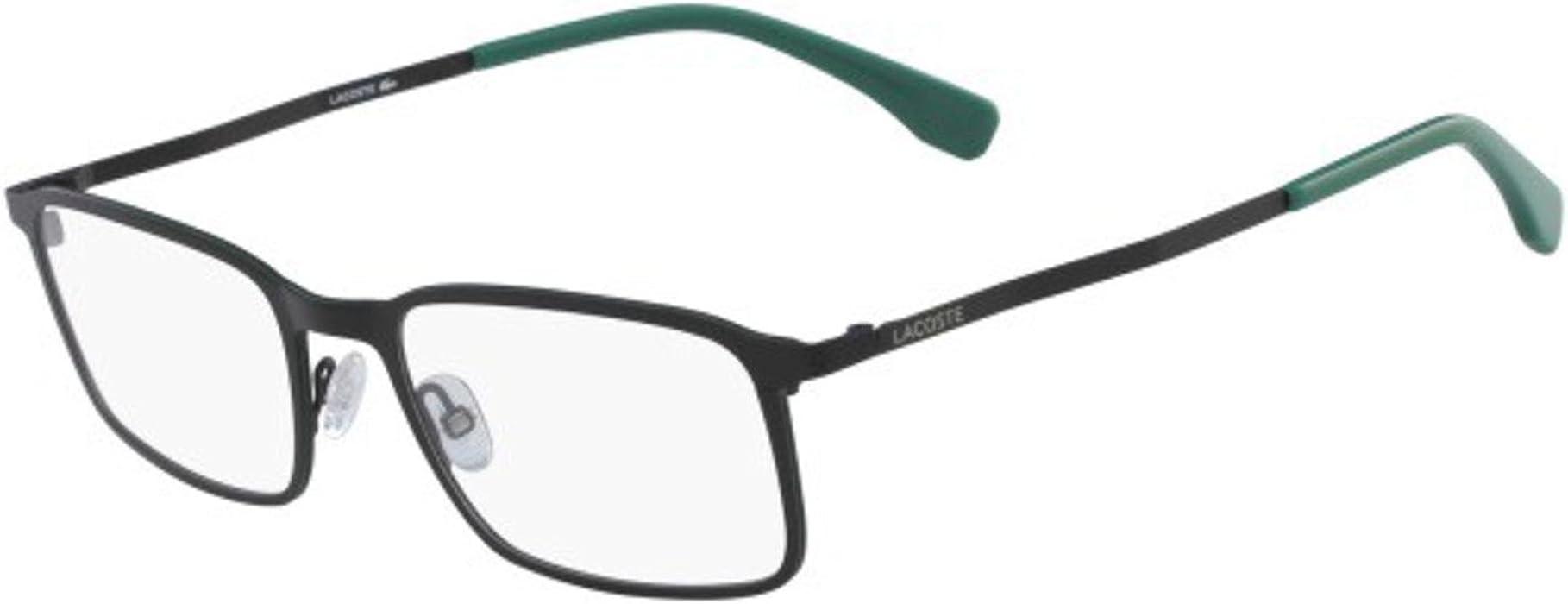 d7d1e3f477d Eyeglasses LACOSTE L 2240 002 MATTE BLACK at Amazon Men s Clothing store