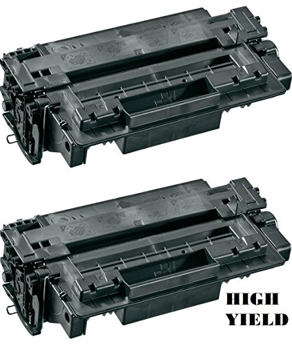 GLB Premium Quality Compatible Replacement For HP 11A(11X)/HP Q6511A(Q6511X) High Yield Black Laser Toner Cartridge for HP LaserJet 2410, 2420, 2430 Series Printers(2-Pack) 2420 2430 Series High Yield