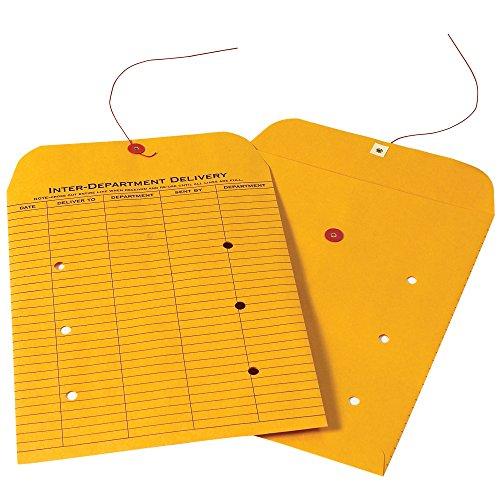 - Boxes Fast BFEN1091 Inter-Department Envelopes, 10