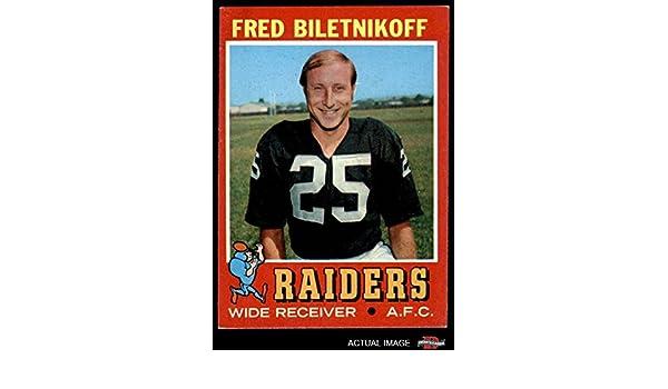 FRED  BELITNIKOFF 1971 OAKLAND RAIDERS 8X10 PHOTO Sports Mem, Cards & Fan Shop