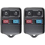 2 QualityKeylessPlus 4 Button Keyless Entry Replacement Remote For FCC ID: CWTWB1U331 FREE KEYTAG
