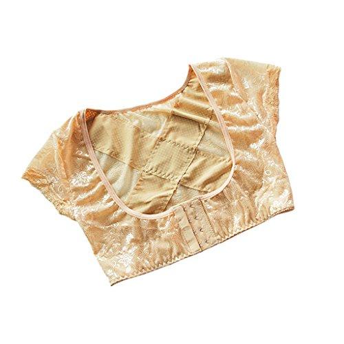MagiDeal Damen Shapewear Figurformender Bra Bustline BH Shaper Push Up Enhancer Weste, Top Qualität und Komfort zu tragen Hautfarbe