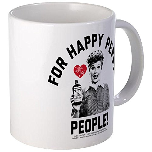 CafePress Lucy Happy Peppy People Unique Coffee Mug, Coffee Cup