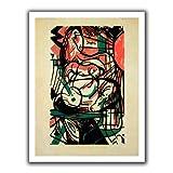 Artwall'el Nacimiento de el Caballo' Lona sin Envolver Art by Franz destilando orujo, 101,6 cm por 132,08 cm