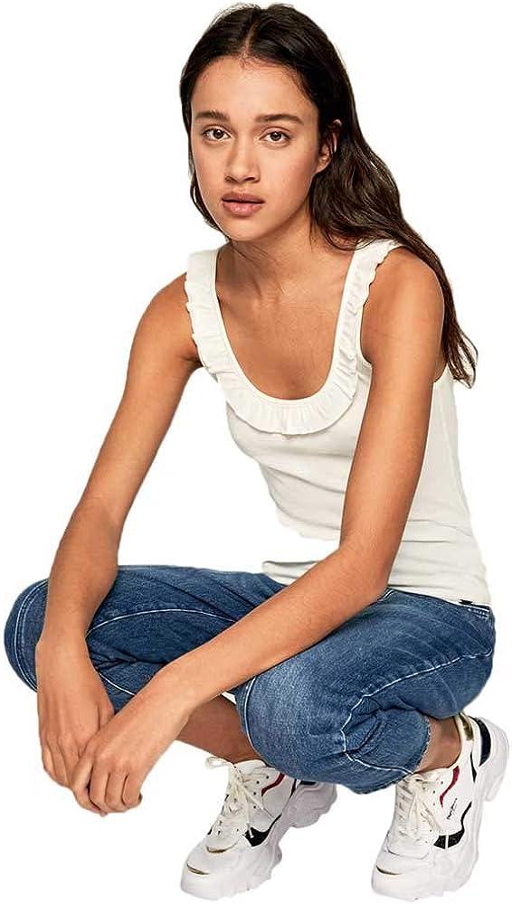 Top con Volantes Diane Pepe Jeans PL504446 para Mujer