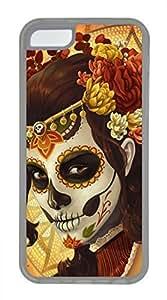 iPhone 5c case, Cute Muertos iPhone 5c Cover, iPhone 5c Cases, Soft Clear iPhone 5c Covers