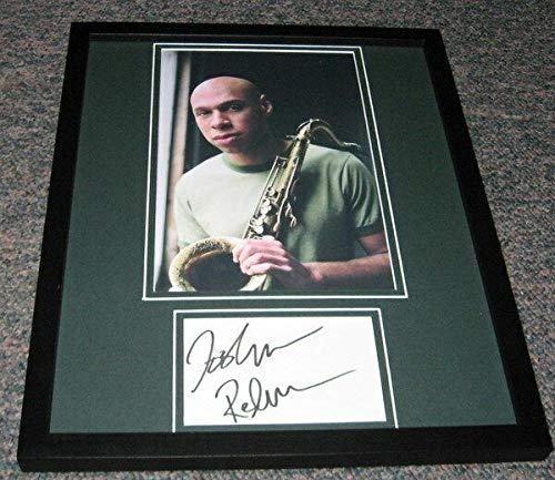 Joshua Redman Signed Framed 11x14 Photo Display