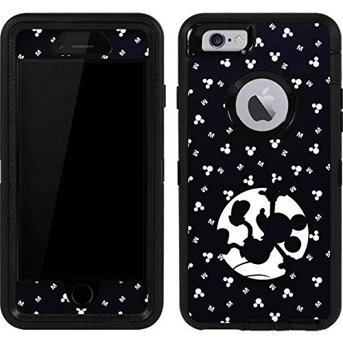 Skinit Mickey Mouse OtterBox Defender iPhone 6 Skin - Mickey Mouse Fallen Shadow Design - Ultra Thin, Lightweight Vinyl Decal Protection ()