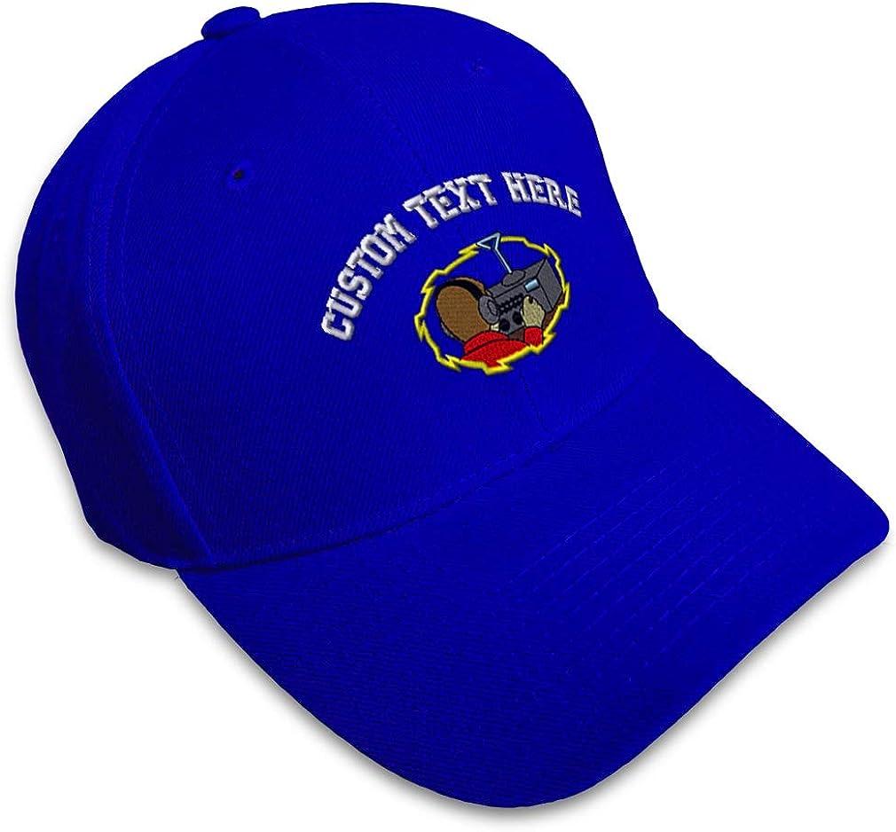 Custom Baseball Cap Ham Radio Operator Embroidery Dad Hats for Men /& Women