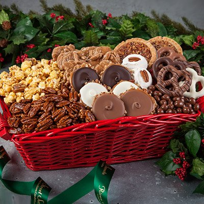 Southern Holiday Sweets Gift Basket (Southern Baskets Gift)