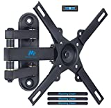 #10: Mounting Dream MD2462 TV Monitor Wall Mount Bracket with Full Motion Articulating Arm for most 17-39 Inches LED, LCD TVs up to VESA 200x200mm and 33 LBS, with Tilt and Swivel