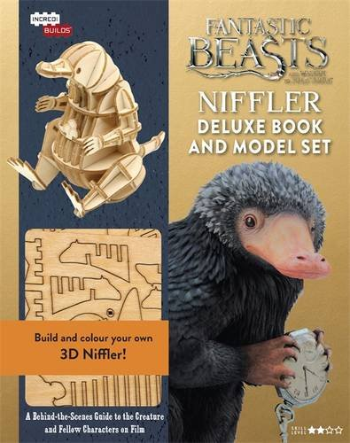 Fantastic Beasts - Niffler Deluxe Book and Model Set (IncrediBuilds)