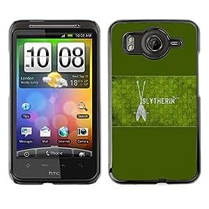 EJOY---Cubierta de la caja de protección la piel dura para el / HTC G10 / --Slytherin